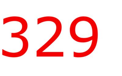 H 329η ημέρα του χρόνου